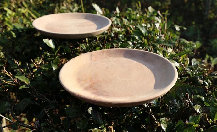 天然免漆 整板实木托盘 茶盘 果盘
