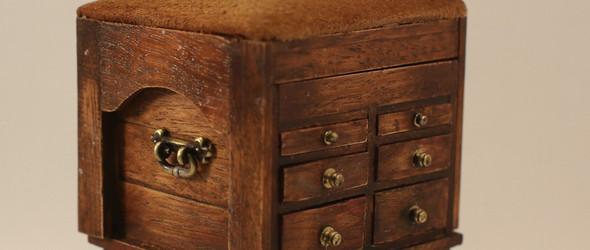 Victoria Morozova | 迷你木制玩偶家具Dollhouse Furniture