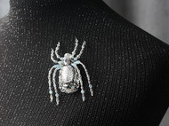 【LXB私人设计】手作立体蜘蛛胸针