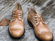 英伦真皮套脚透气休闲头层牛皮男士皮鞋