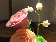 #创意翻糖礼品# 花,在一起,才美
