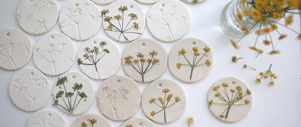 自然而然的植物拓印手工艺品 - 来自艺术家Paula Valentim