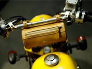 定制小猴子摩托前圆包