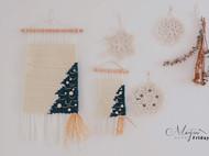 MAYIN FRIDAY 手工羊毛编织 圣诞挂毯 详细教程+材料包