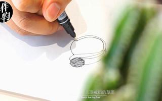 手工制作纯银黑珍珠戒指,简单线条独特设计