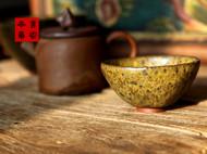 传统龙窑柴烧全手工粗陶小茶杯