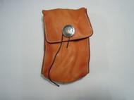 植鞣革水洗腰包手工皮具