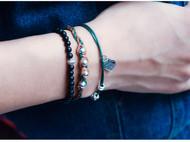 嬉皮蜡线手工编织手链波西米亚民族风饰品多层