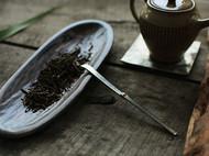 洋白铜 折叠茶拨