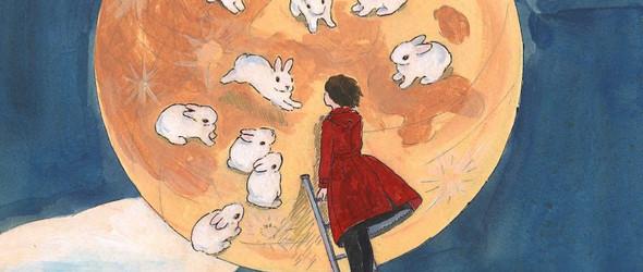 有兔纸相伴的小日子:日本插画师森山标子笔下的可爱兔纸