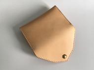 原创手工牛皮革原色植鞣革简约小巧男士女士卡包名片包零钱包卡夹