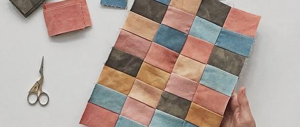 纺线织布植物染手工雕版印花制包做衣服都隐匿在这家小小工作室