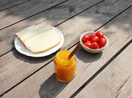 【小C的纯手工果酱】自制无添加 芒果果酱 浓郁美味 面包抹酱酸奶