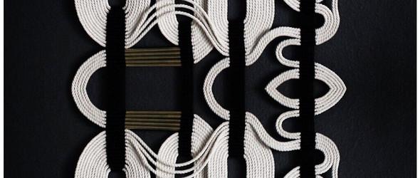 抽象写意的结绳挂毯 | HIMO ART