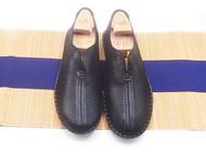 手工男鞋 超轻鞋底镂空透气凉鞋
