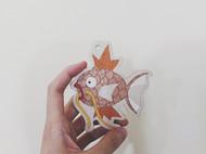 一条鲤鱼皮版的鲤鱼王~