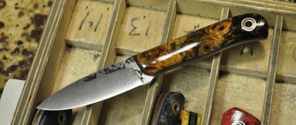 超详细的手工刀具制作实录:一把手工短刀是如何制成的(超过100张图!)