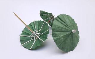 DIY迷你中国风纸伞/雨伞
