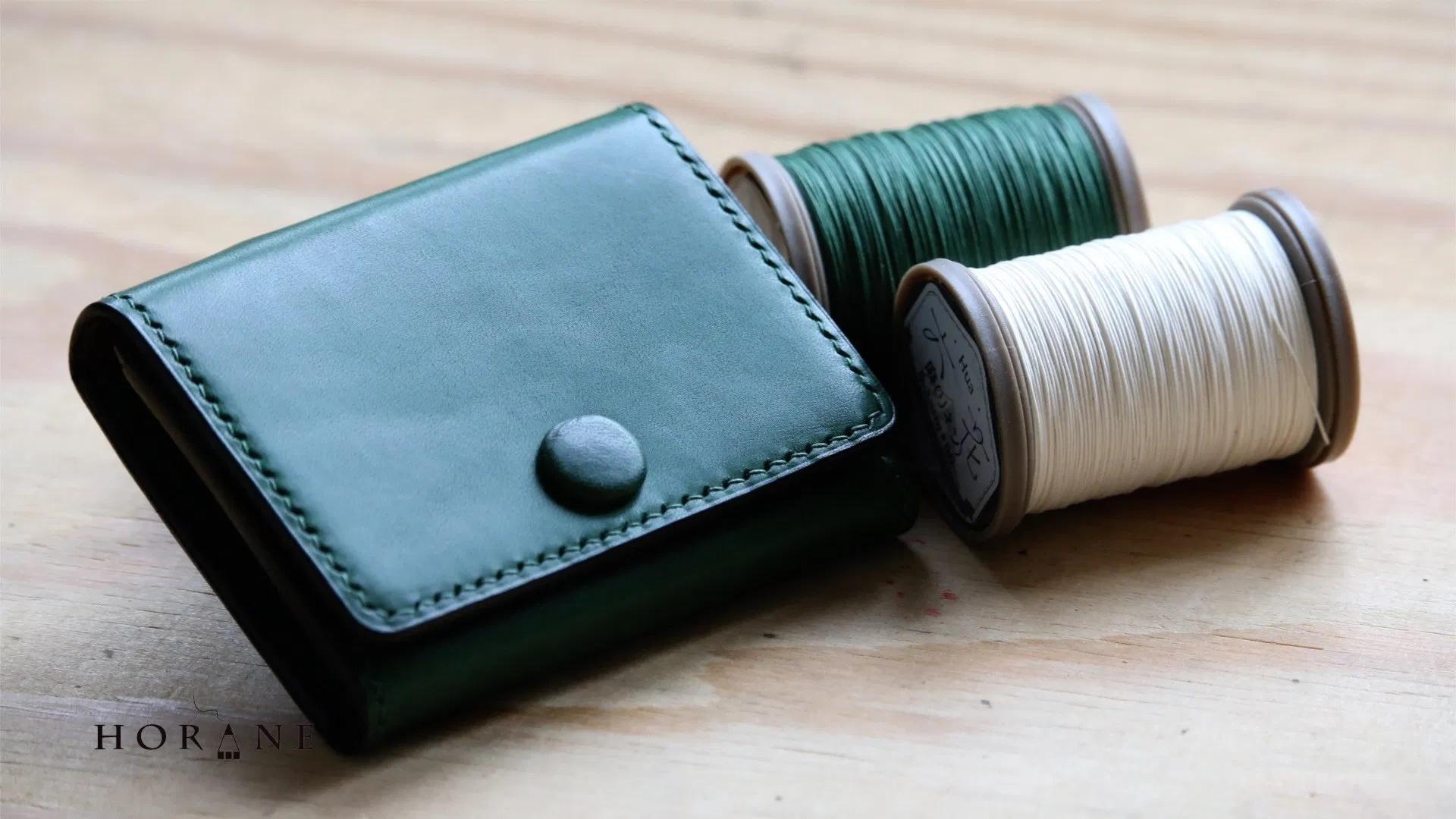 手工皮具视频教程与免费图纸:皮革配件保护套 / Accessory Case