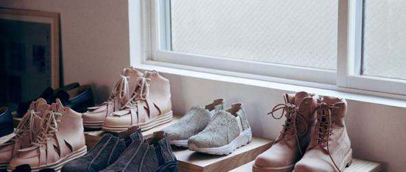日本皮革品牌 Hender Scheme 的工作室和陈列室