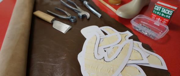 手工鞋完整制作教程之三:鞋面裁剪和制作