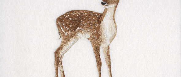 活灵活现的刺绣动物 | Helen Richman(海伦·里奇曼)