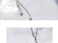 M.Q奎妮小姐 优雅新娘款天然珍珠背链/项链