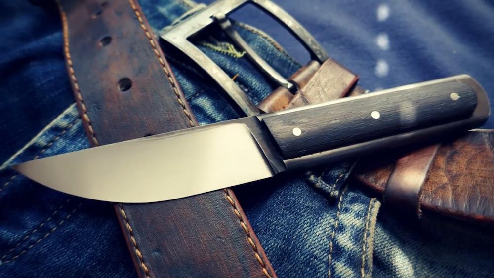 制刀视频:一把扳手,变成一把锋利而美观的手工刀