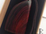 【LR ART】老红木西瓜纹手把件刮板保健板