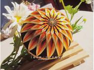 10cm橘色手鞠球