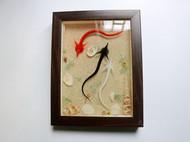 动漫《犬夜叉》中桔梗的死噬魂虫 相框画装饰摆件