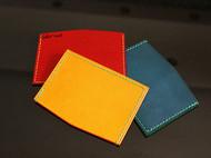 纯手缝多色公交卡套银行卡套可以装零钱