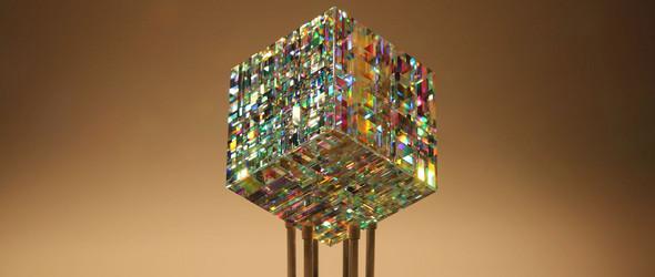 将彩虹封在玻璃里   玻璃雕刻家 Jack Storms 作品精选集