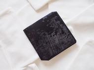 5000TIMES'手工皮具-片叶系列 钱包 卡包 英国马缰革 黑色