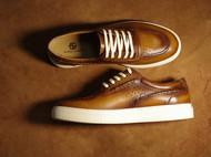 古法擦色,赋予鞋子不一样的魅力