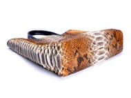 顶级蟒蛇皮手袋