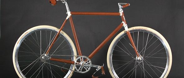 FAGGIN PRIMAVERA-皮革与碳素纤维,手工打造的复古自行车