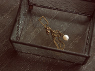 珍珠复古小项链