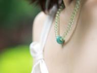 「气息」葡萄石绿松石