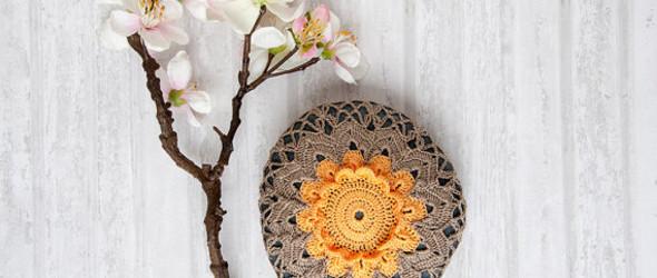 桌面上的风景——美国钩针达人Sharon Condrat 的钩针艺术