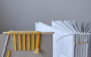 第三章:科普特缝本脊缝线方法 | 线装手工相册制作教程(适用于手工本和手工书)