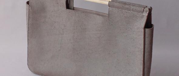 日本皮具大神 Tetsuya Ishihara 手工制作木柄手提包过程欣赏