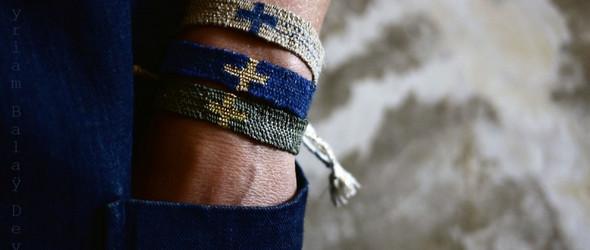 自己编织,自己染色,自己摄影:法国设计师 Myriam Balaÿ Devidal手工编织的手链
