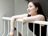 M.Q奎妮小姐 /DREAM / 天然灰珍珠925纯银耳钉