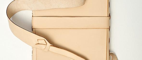 PACT皮具:无胶水,无缝线,无五金件或拉链,只有极光切割的皮件