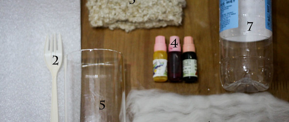 DIY教程:羊毛自染色、混色