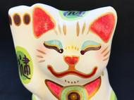 【日本手作招财猫】渡边叶子 黏土纯手工制作 创意精致个性艺术品 直邮包邮