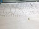 激光切割-小黄人笔筒