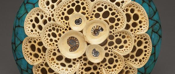 别开生面的葫芦雕刻   美国艺术家 Mark Doolittle 的葫芦艺术赏析