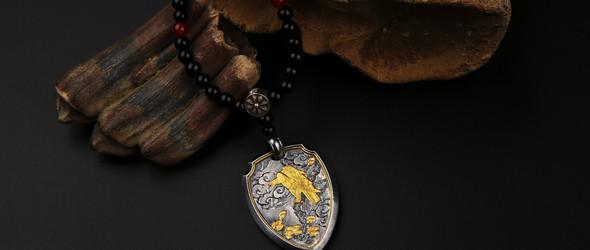 偶屿十周年特别纪念款:松鹰盾牌,与有缘人共相随